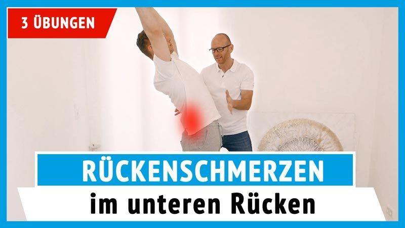 Geliebte Schmerzen im unteren Rücken loswerden - 2 effektive Übungen (Video) @MB_11