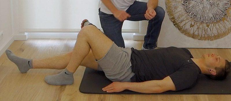 Gleitwirbel Übungen für zu Hause