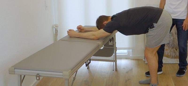 Rückenschmerzen im unteren Rücken Übungen