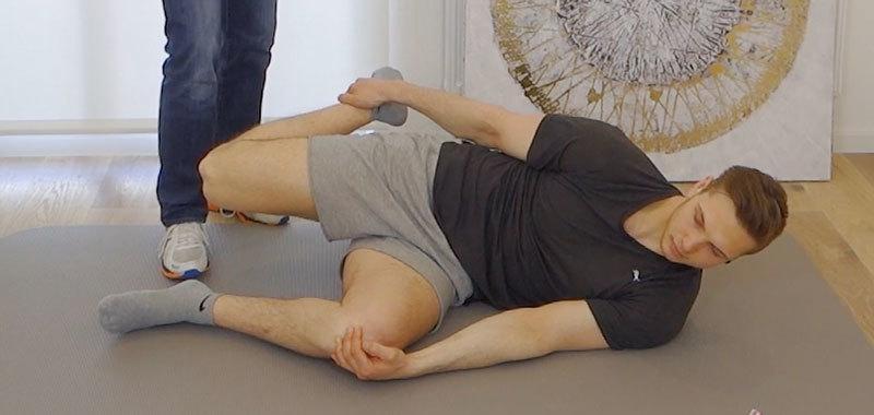 Arhrose Knie Übungen