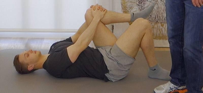 Knie stabilisieren