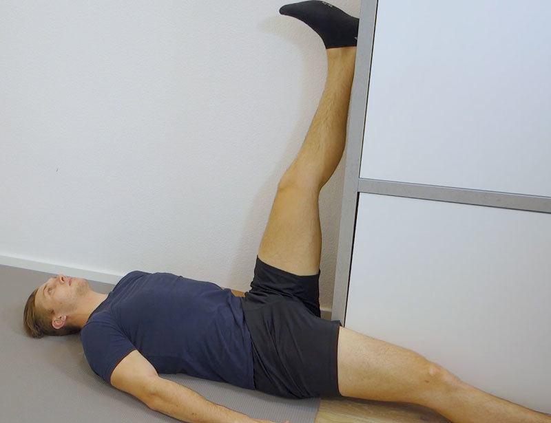 Patellaspitzensyndrom-Übungen