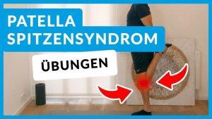 Patellaspitzensyndrom Übungen