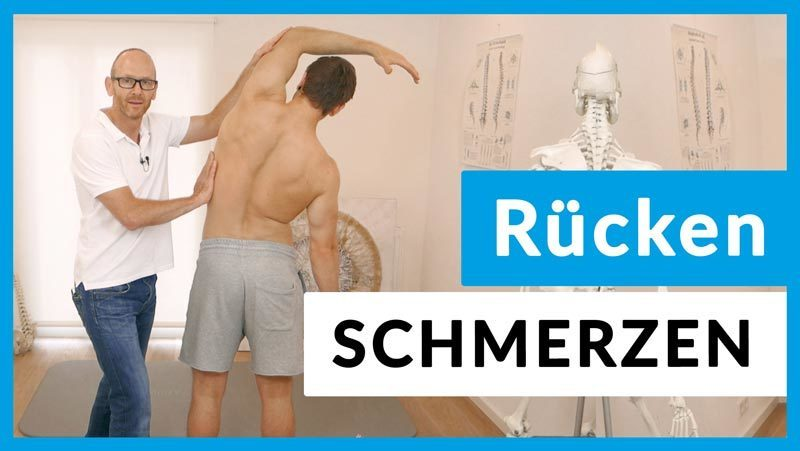 Steifer Rücken-Übungen