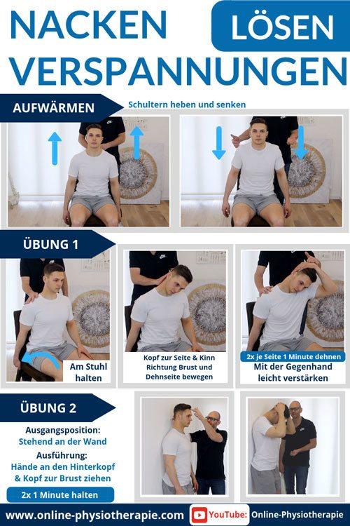 Nackenverspannungen Losen 2 Einfache Ubungen Fur Zu Hause