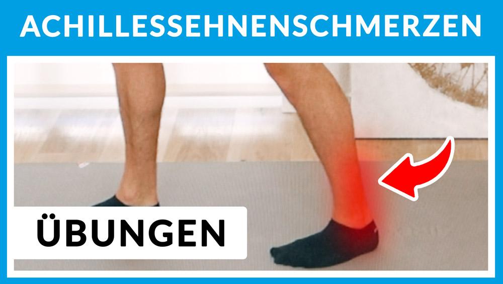 Achillissehnen-Schmerzen-Übungen