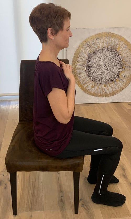 Nackenschmerzen Übungen für zu hause