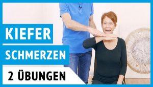Übungen bei Kieferschmerzen