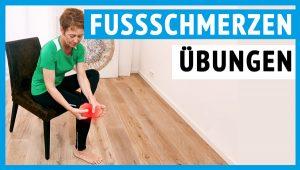 In diesem Beitrag findest du Übungen bei Fußschmerzen für zuhause