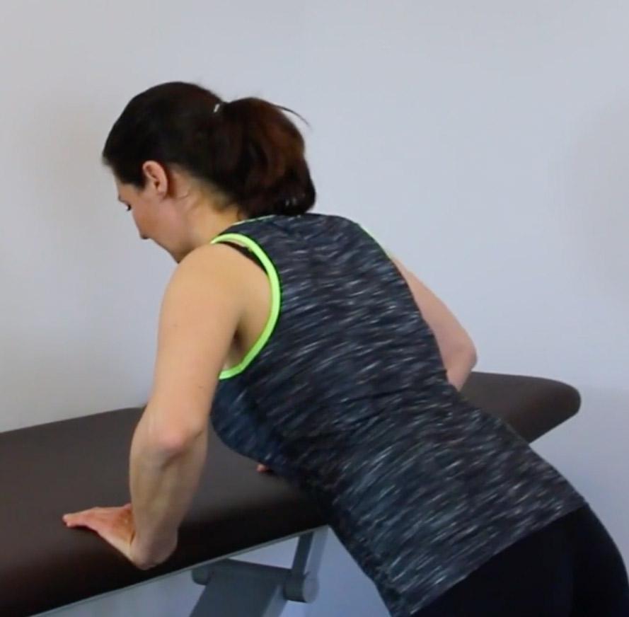 Liegestütze Übung Impingement-Syndrom