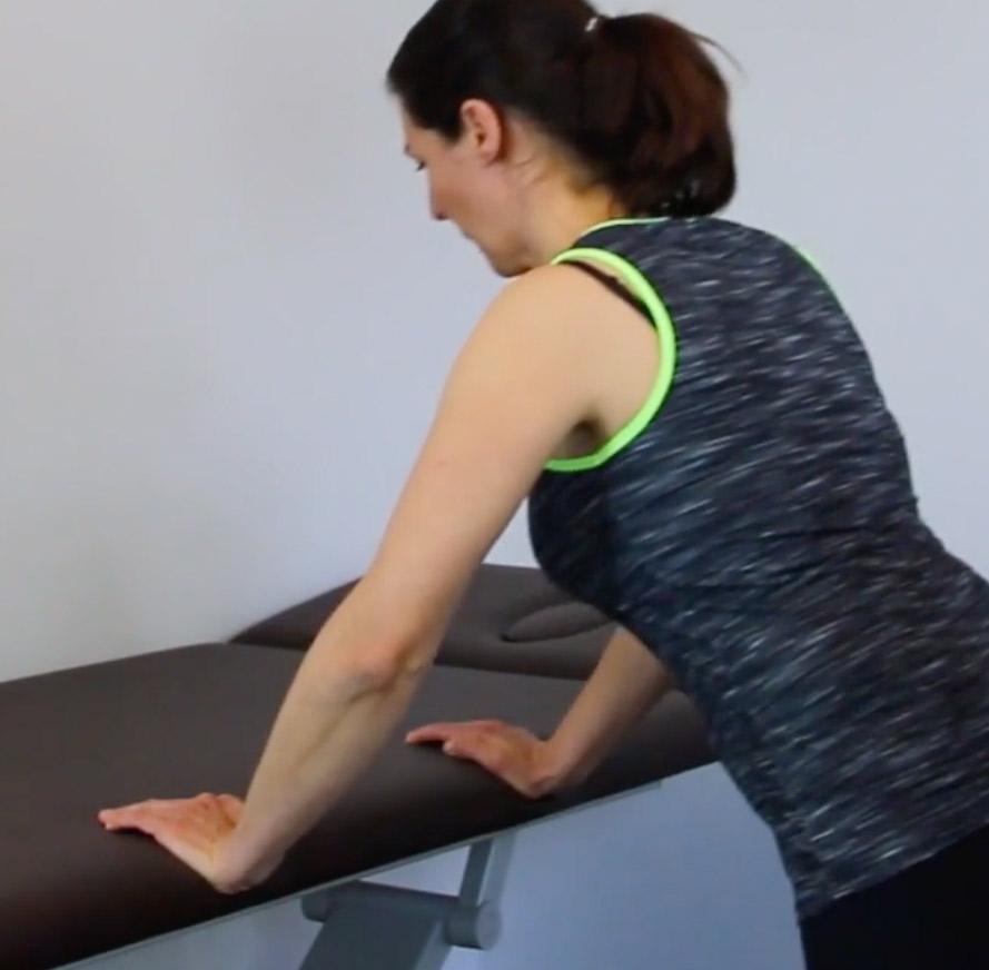 Liegestütze Übung Impingement-Syndrom Schulter