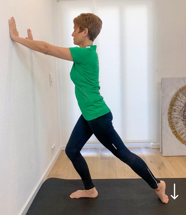 Fussschmerzen Übungen physiotherapie