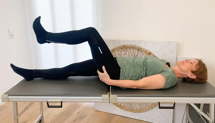 Beinlängendifferenz übungen für zuhause