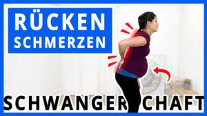Rückenschmerzen in der Schwangerschaft