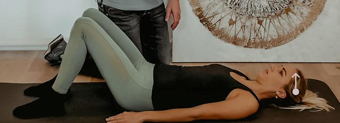 Nacken uebung physiotherapie