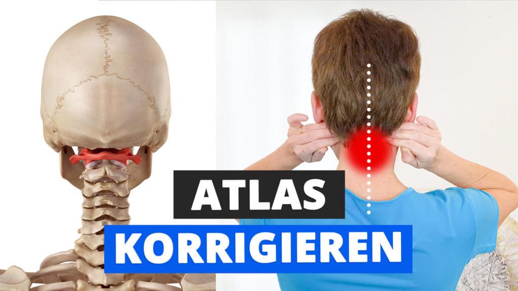 Atlaswirbel Übungen Atlaskorrektur