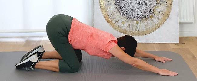Entlastungsstellung Rücken