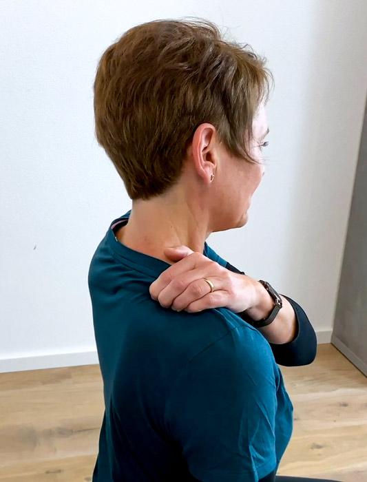 Triggerpunkte Nacken Übungen